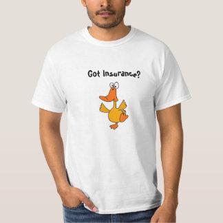 CR- Dancing Duck Insurance Joke Shirt