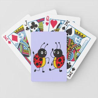 CR- Dancing Ladybugs Playing Cards