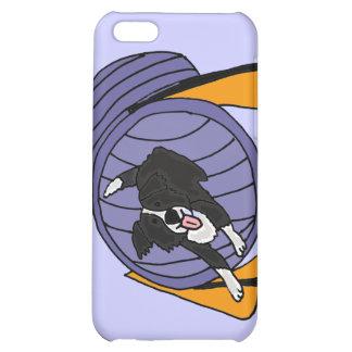 CR- Dog Agility Tunnel Cartoon iPhone 5C Case