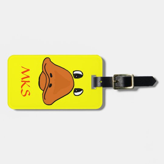 CR- Funny Duck Face Luggage Tag