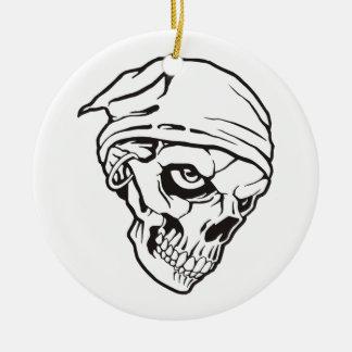 Cr�ne de pirata para Halloween -