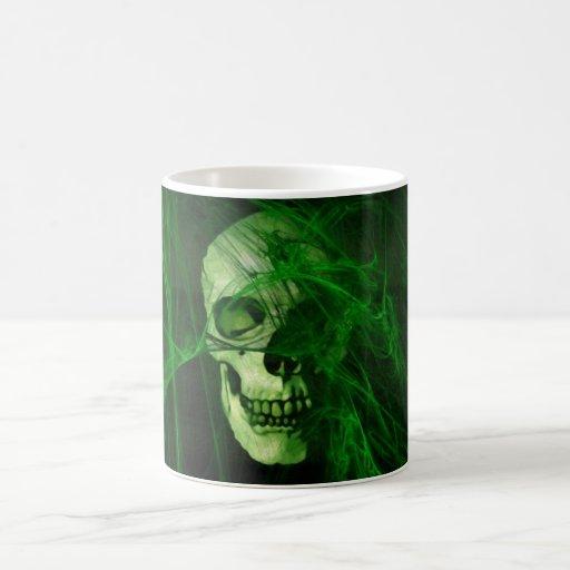 Cr�ne en el fum�e verde - taza