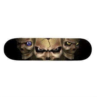 Cr�nes a los ojos fluo - tabla de patinar