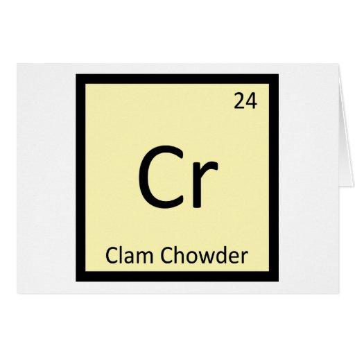 Cr - símbolo de la tabla periódica de la química d tarjetas