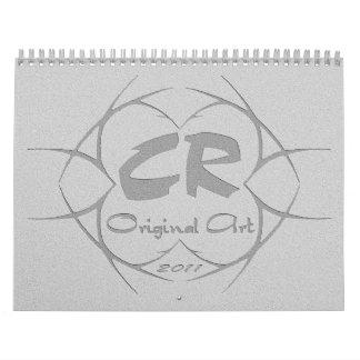 CR Stone Cut Glow Collection Calendar