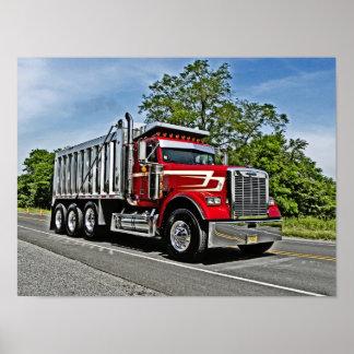 CRA Dump Truck Poster