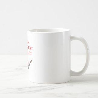 craazy taza básica blanca
