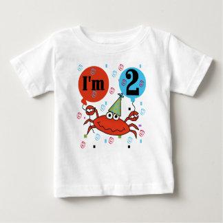 Crab 2nd Birthday T Shirt