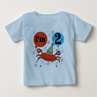 Crab 2nd Birthday Tshirts and Gifts