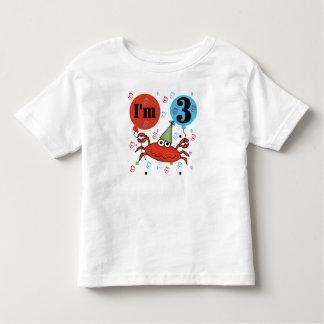 Crab 3rd Birthday T-shirts