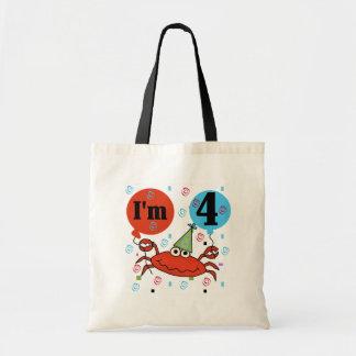 Crab 4th Birthday Bags