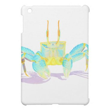 Beach Themed crab_6500_shirts case for the iPad mini