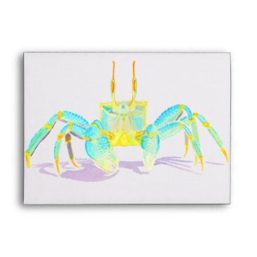 Beach Themed crab_6500_shirts envelope