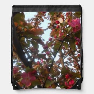 Crab Apple Blossom Tree Backpack