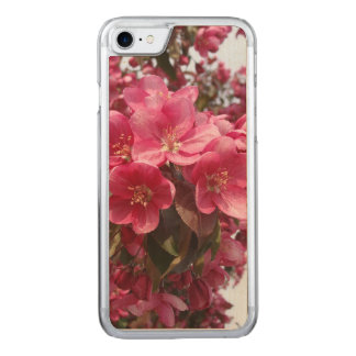 Crab Apple Blossoms Carved iPhone 8/7 Case