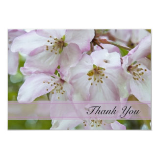 Crab Apple Blossoms Flat Thank You Notes Custom Announcements
