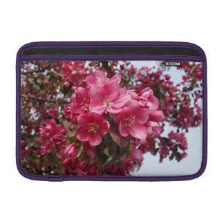 Crab Apple Blossoms MacBook Air Sleeve