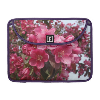 Crab Apple Blossoms Sleeves For MacBooks