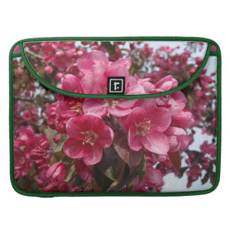 Crab Apple Blossoms Sleeves For MacBook Pro