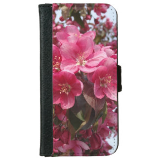 Crab Apple Blossoms Wallet Phone Case For iPhone 6/6s