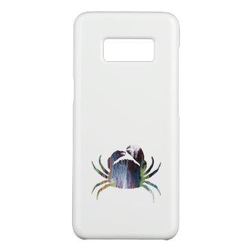 Beach Themed Crab art Case-Mate samsung galaxy s8 case