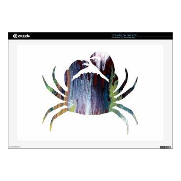 Beach Themed Crab art skins for laptops
