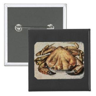 Crab Artwork Button