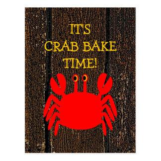 Crab Bake! Postcard