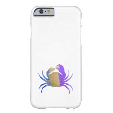 Beach Themed Crab Barely There iPhone 6 Case