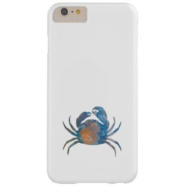 Beach Themed Crab Barely There iPhone 6 Plus Case