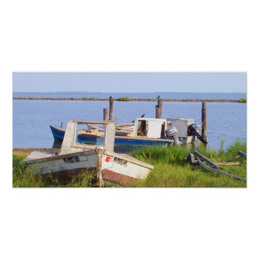 Crab Boats Posters