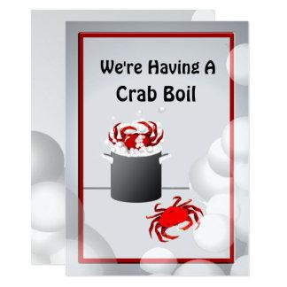 Crab Boil Dinner Party Invitation
