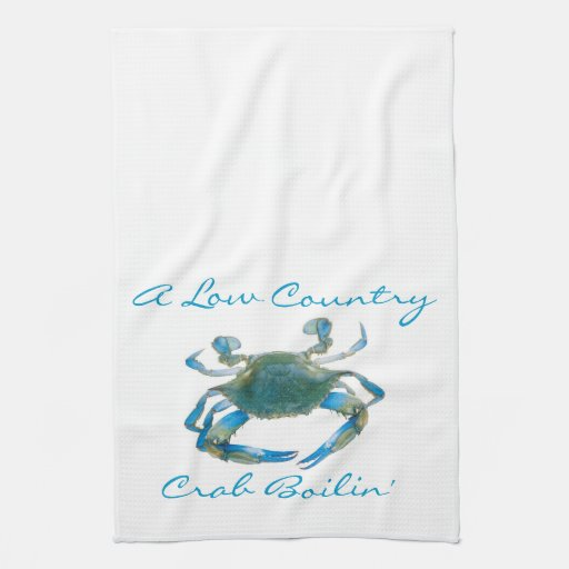 Crab Boil Kitchen Towel