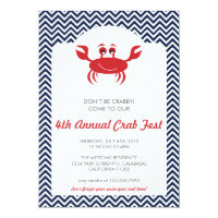 Crab Boil Summer BBQ Invitation