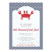 Crab Boil Summer BBQ Invitation