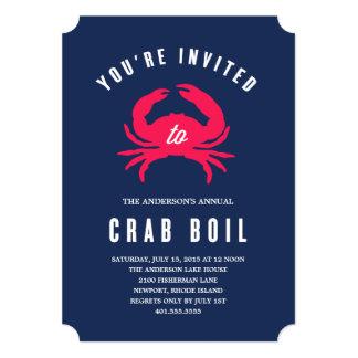 Crab Boil | Summer Party Invitation
