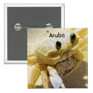 Crab Pinback Buttons