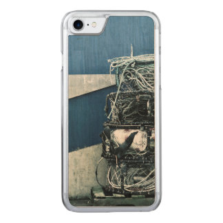 Crab cages carved iPhone 7 case