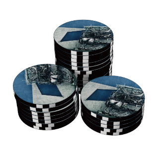 Crab cages poker chips