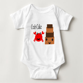Crab Cake cuttie Baby Bodysuit