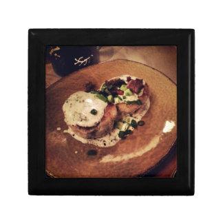 Crab Cakes ( Food and Beverage) Keepsake Box