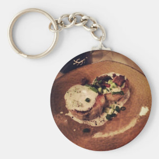Crab Cakes ( Food and Beverage) Keychain