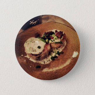 Crab Cakes ( Food and Beverage) Pinback Button