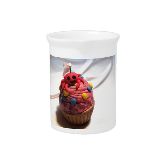 Crab Cupcake Beverage Pitcher