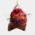 Crab Cupcake Ornament