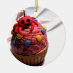 Crab Cupcake Ornaments