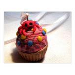 Crab Cupcake Postcard