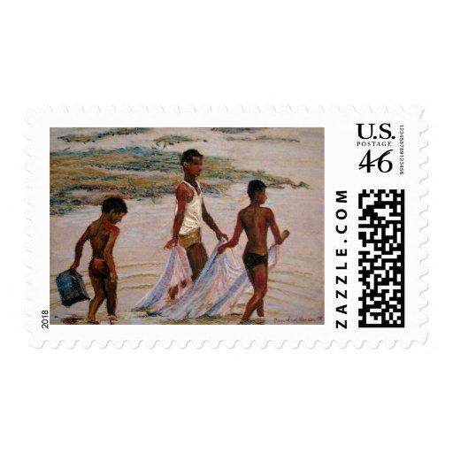 crab dance postage