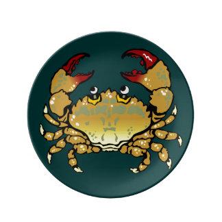 Crab Dinner Plate