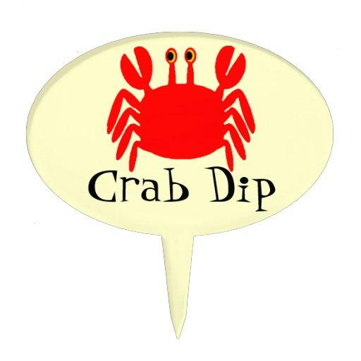 CRAB DIP (not a cake topper) Cake Topper